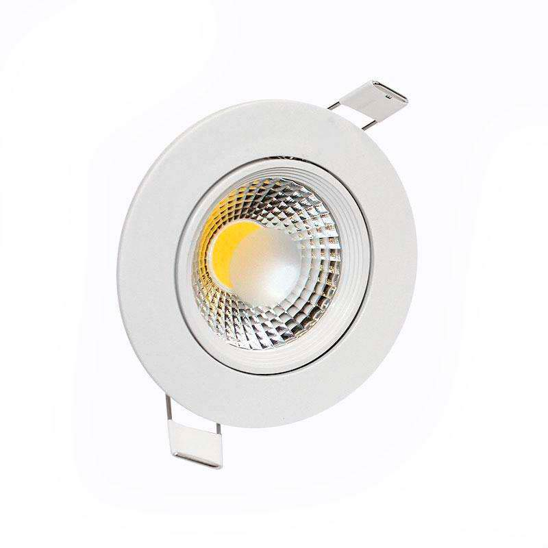 Downlight Led BASIC COB 5W, Blanco cálido